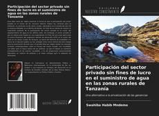 Copertina di Participación del sector privado sin fines de lucro en el suministro de agua en las zonas rurales de Tanzanía