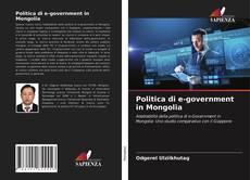 Buchcover von Politica di e-government in Mongolia