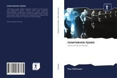 Bookcover of позитивное право