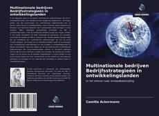 Обложка Multinationale bedrijven Bedrijfsstrategieën in ontwikkelingslanden