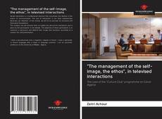 "Portada del libro de ""The management of the self-image, the ethos"", in televised interactions"