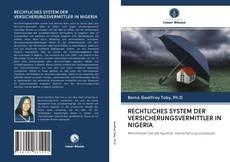 Buchcover von RECHTLICHES SYSTEM DER VERSICHERUNGSVERMITTLER IN NIGERIA