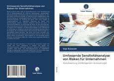 Buchcover von Umfassende Sensitivitätsanalyse von Risiken für Unternehmen