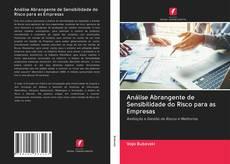 Capa do livro de Análise Abrangente de Sensibilidade do Risco para as Empresas