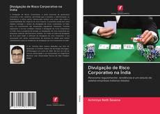 Capa do livro de Divulgação de Risco Corporativo na Índia