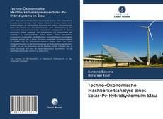 Bookcover of Techno-Ökonomische Machbarkeitsanalyse eines Solar-Pv-Hybridsystems im Stau