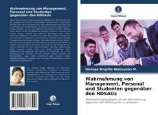 Обложка Wahrnehmung von Management, Personal und Studenten gegenüber den HDSAUs