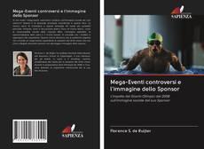 Capa do livro de Mega-Eventi controversi e l'immagine dello Sponsor