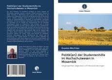 Portada del libro de Politik(en) der Studentenhilfe im Hochschulwesen in Mosambik