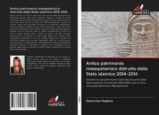 Portada del libro de Antico patrimonio mesopotamico distrutto dallo Stato islamico 2014-2016