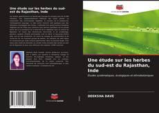 Une étude sur les herbes du sud-est du Rajasthan, Inde kitap kapağı