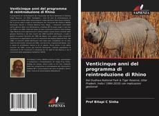 Обложка Venticinque anni del programma di reintroduzione di Rhino