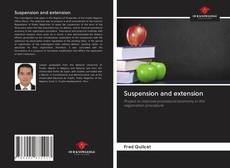 Capa do livro de Suspension and extension