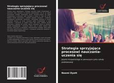 Copertina di Strategia sprzyjająca procesowi nauczania-uczenia się