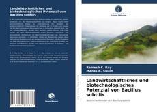 Landwirtschaftliches und biotechnologisches Potenzial von Bacillus subtilis kitap kapağı