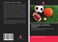 Formulação de políticas públicas kitap kapağı