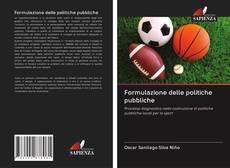 Copertina di Formulazione delle politiche pubbliche