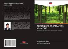 GESTION DES COOPÉRATIVES AGRICOLES kitap kapağı