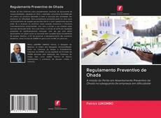Regulamento Preventivo de Ohada kitap kapağı
