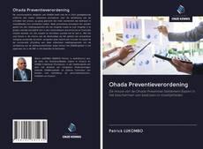 Ohada Preventieverordening kitap kapağı