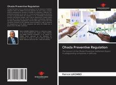 Portada del libro de Ohada Preventive Regulation