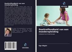 Bookcover of Doeltreffendheid van een moederopleiding