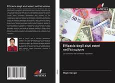 Bookcover of Efficacia degli aiuti esteri nell'istruzione