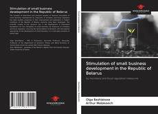 Bookcover of Stimulation of small business development in the Republic of Belarus