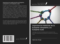 Portada del libro de Importancia medicinal de la Eulophia campestris y la Eulophia nuda