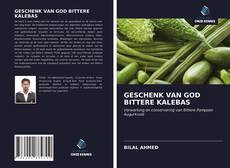 GESCHENK VAN GOD BITTERE KALEBAS kitap kapağı