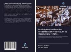 Portada del libro de Doeltreffendheid van het voederadditief Probioticum op vleeskuikenprestaties