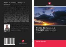 Capa do livro de Gestão da mudança e Inovação na educação