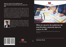 Copertina di Mise en œuvre de systèmes de planification avancés dans le cadre du IBP