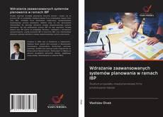 Copertina di Wdrażanie zaawansowanych systemów planowania w ramach IBP