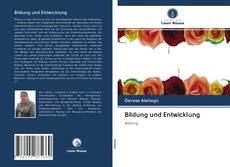 Bookcover of Bildung und Entwicklung