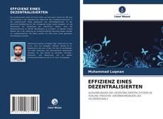Portada del libro de EFFIZIENZ EINES DEZENTRALISIERTEN
