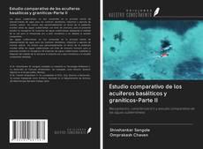 Portada del libro de Estudio comparativo de los acuíferos basálticos y graníticos-Parte II