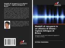 Bookcover of Modelli di recupero in un afasico di Shona - inglese bilingue di Broca