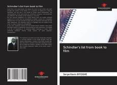 Couverture de Schindler's list from book to film