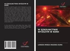 Portada del libro de W SZKOLNICTWIE WYŻSZYM W KENII