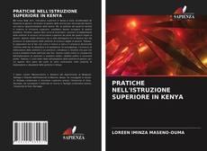 Portada del libro de PRATICHE NELL'ISTRUZIONE SUPERIORE IN KENYA