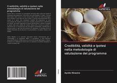 Обложка Credibilità, validità e ipotesi nella metodologia di valutazione del programma