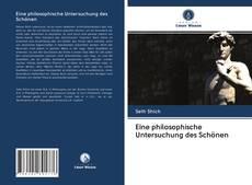 Bookcover of Eine philosophische Untersuchung des Schönen
