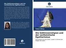 Capa do livro de Die Göttinnenreligion und der vortheistische Egalitarismus