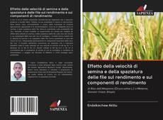 Bookcover of Effetto della velocità di semina e della spaziatura delle file sul rendimento e sui componenti di rendimento
