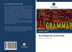 Bookcover of Grundlegende Grammatik