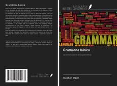Capa do livro de Gramática básica