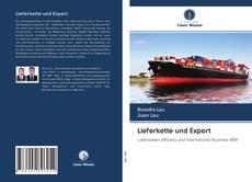 Portada del libro de Lieferkette und Export