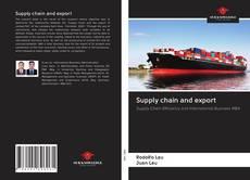 Portada del libro de Supply chain and export