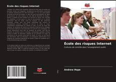 Bookcover of École des risques Internet